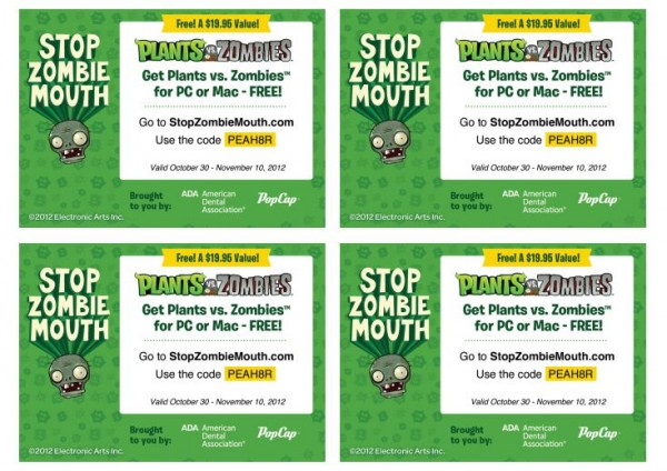 popcap games plants vs zombies registration key