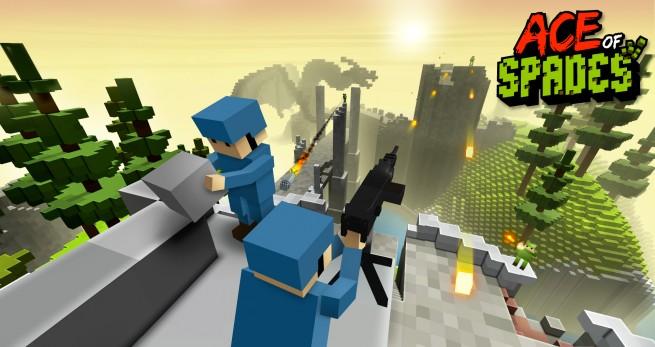 Minecraftlike Firstperson Shooter Heads To Steam In December - Minecraft shooter spiele