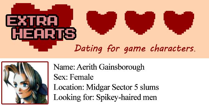 Extra Hearts: Aerith profile