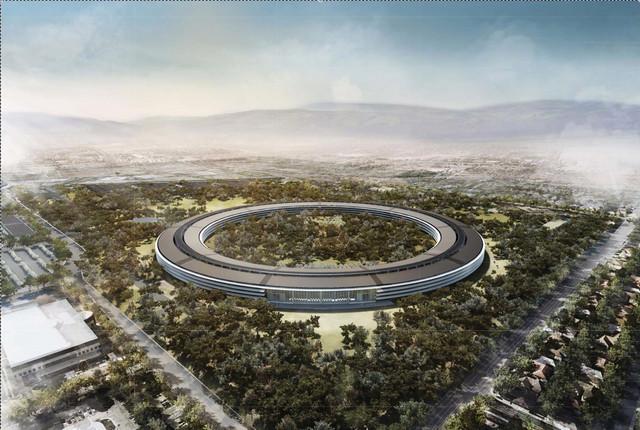 Apple's HQ blueprints