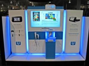 Wii U demo kiosk