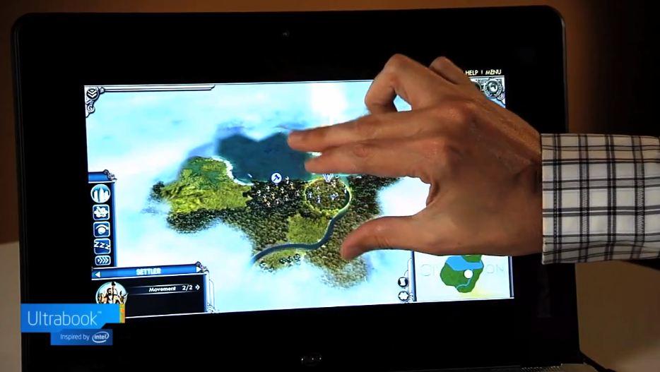 Firaxis Dennis Shirk Ultrabook Intel