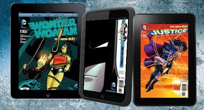 DC digital comics