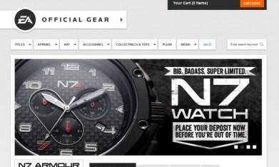 EA Gear store