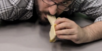 The '5-second rule' is a myth, so stop eating food off the ground! (video)