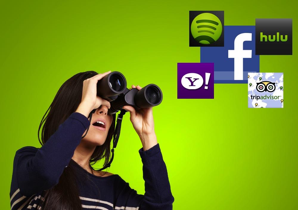Facebook search app center