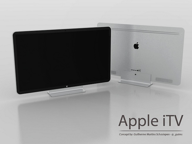 Apple iTV concept by Guilherme Schasiepen