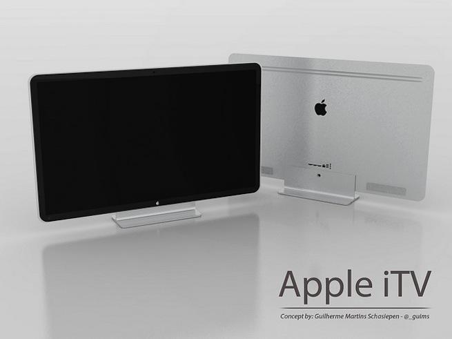 Apple iTV concept by Guilherme Schasiepen