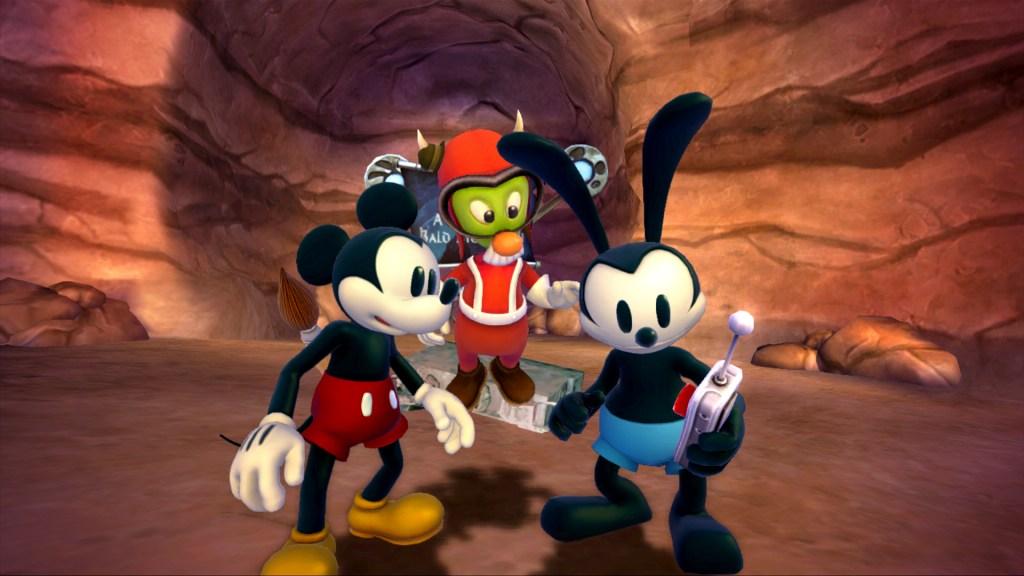 Disney Epic Mickey 2 - Gulch, Mickey, Oswald, Gus