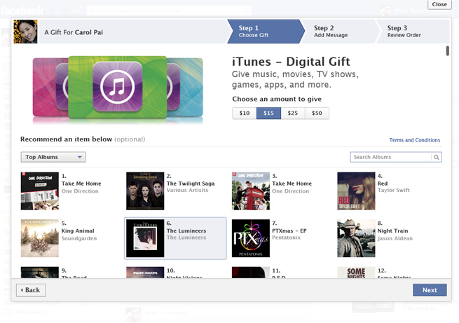 iTunes-Facebook-Gifts
