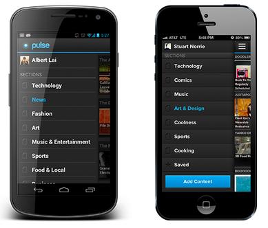 Pulse mobile app