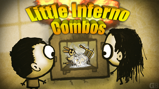 Tomorrow Corporation satiates your irrational impulse to set things on fire with Little Inferno a chimney simulator available now for the Wii U and PC. & Little Inferno: How to unlock all 99 combos - view all | GamesBeat
