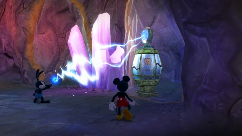 Epic Mickey 2 - Rescuing a Gremlin