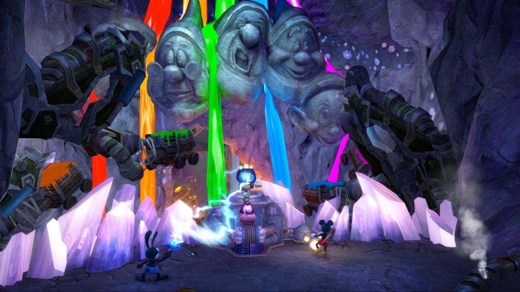 Epic Mickey 2 - Rainbow Falls Dwarves
