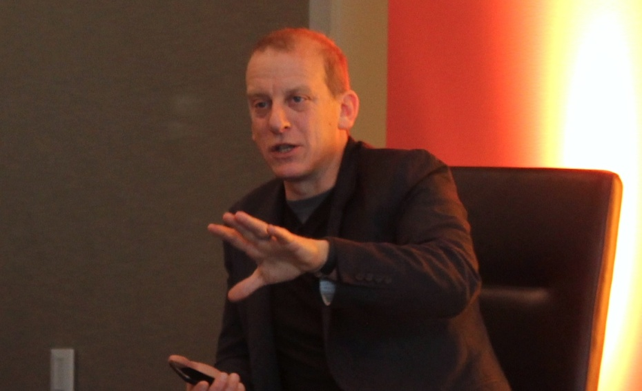 Rich Miner, General partner at Google Ventures, speaking at the Open Mobile Summit in November 2012