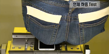 How Samsung uses fake butts to stress test its phones (video)