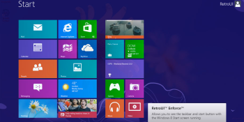 More retro in your metro: Now you can have Windows 8 and the classic Start menu