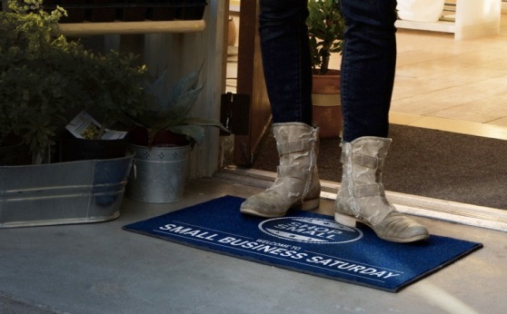 """""""Shop Small"""" photo from American Express Small Business Saturday website"""