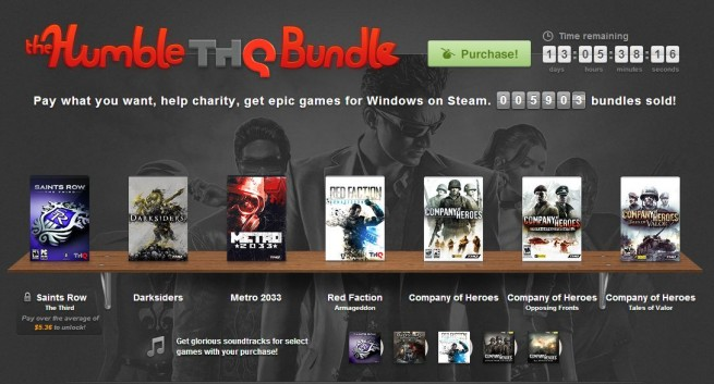 Humble Bundle Update: THQ Becomes First Big Publisher To Release A 'Humble