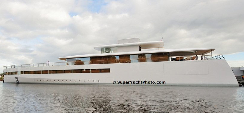 Steve Jobs 39 250 Million Superyacht Venus Finally Sets