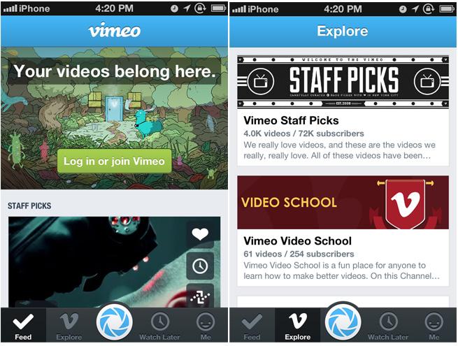 vimeo-iphone-app