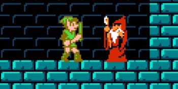 How some of the weirdest parts of Zelda II compare to other games in the series