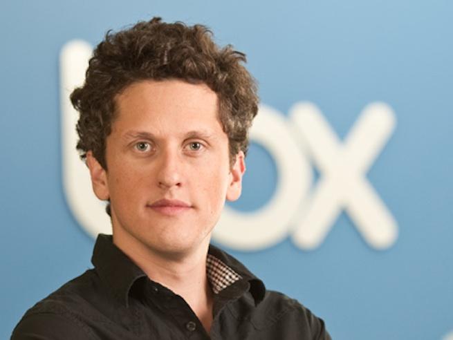 Box CEO Aaron Levie.