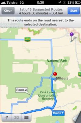 apple maps australia
