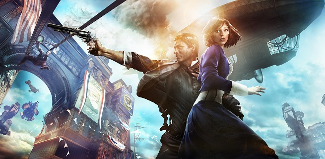 BioShock: Infinite -- Booker Dewitt and Elizabeth