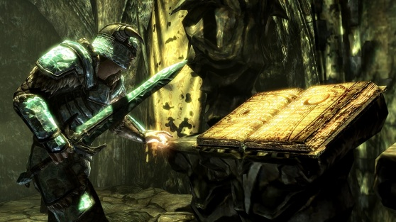 The Elder Scrolls V: Skyrim Dragonborn is a pint-sized Morrowind ...