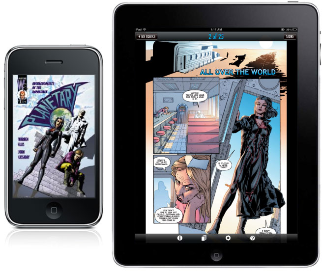 comixology continue