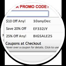 coupons at checkout codes
