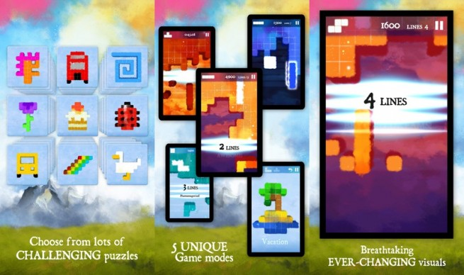 Reverse Tetris' puzzler Dream of Pixels may be critically