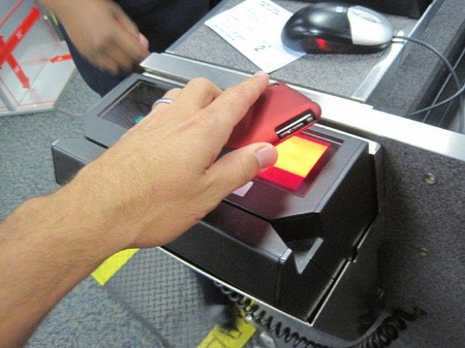 electronic boarding pass