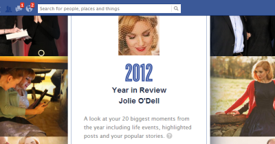 How to see anyone's personal year in review on Facebook