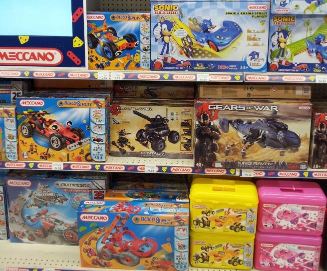 Gears of War Meccano in store 2