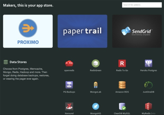 heroku-app-store