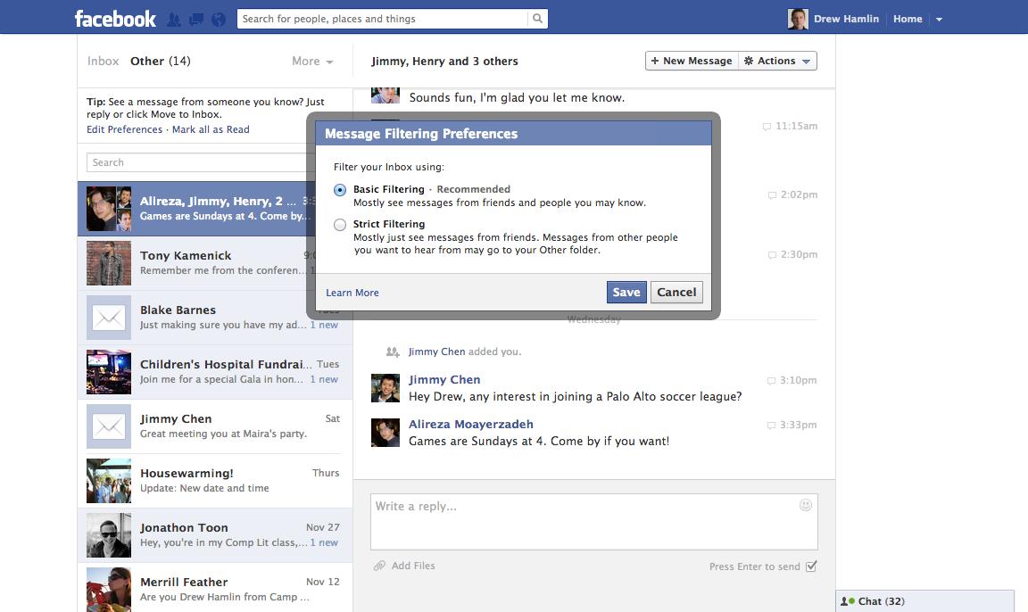 фейсбук сообщение незнакомцу на отправить