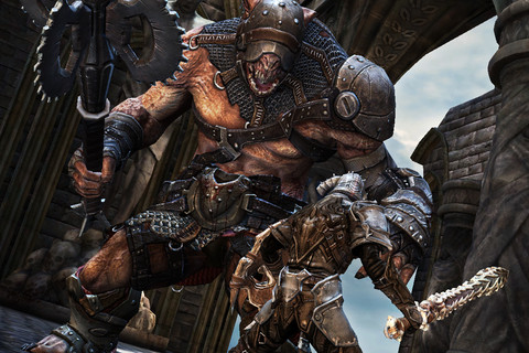 Infinity Blade_best mobile games