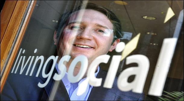 LivingSocial's outgoing CEO Tim O'Shaughnessy.