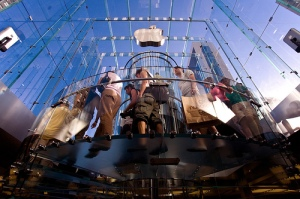 Apple's iconic 5th Avenue store in New York