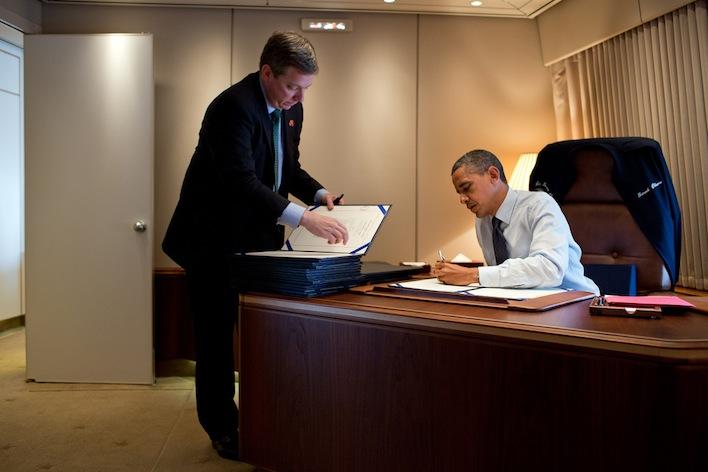 Obama signing bills