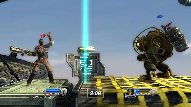 PlayStation All-Stars -- Emmett calls in a Shotgun Mine
