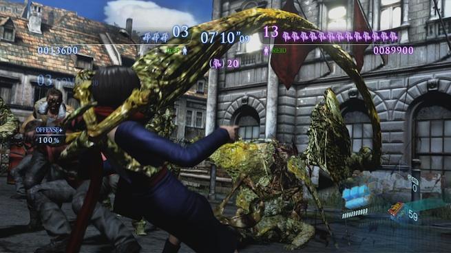 Resident Evil 6 Onslaught mode 1