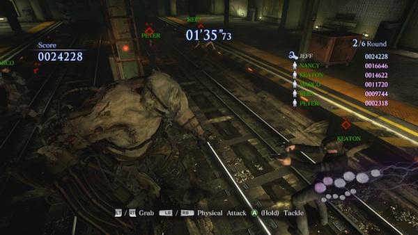 Resident Evil 6 Predator mode