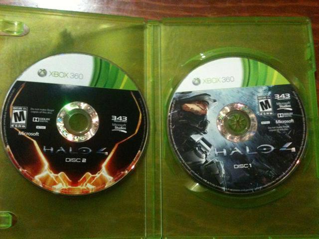 Halo 4 disc