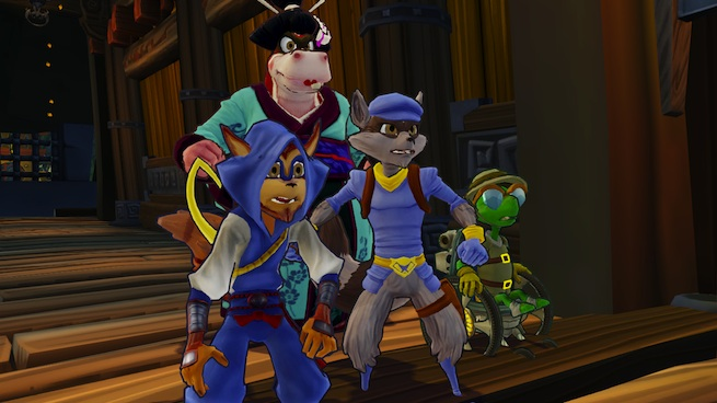 Sly Cooper: Thieves in Time gang