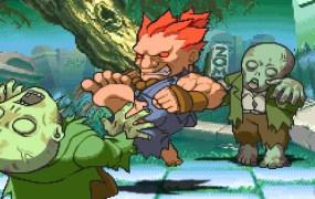 Akuma vs. zombies