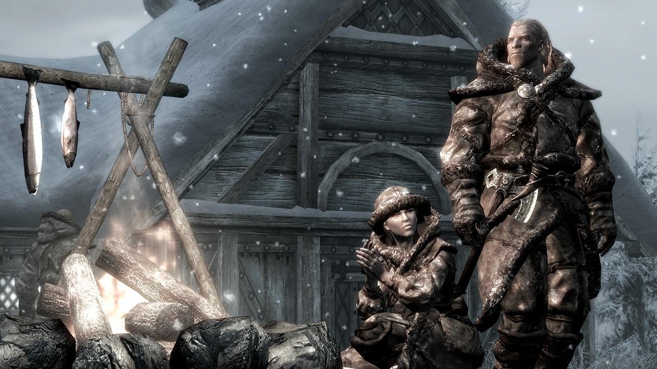 The Elder Scrolls V: Skyrim Dragonborn is a pint-sized