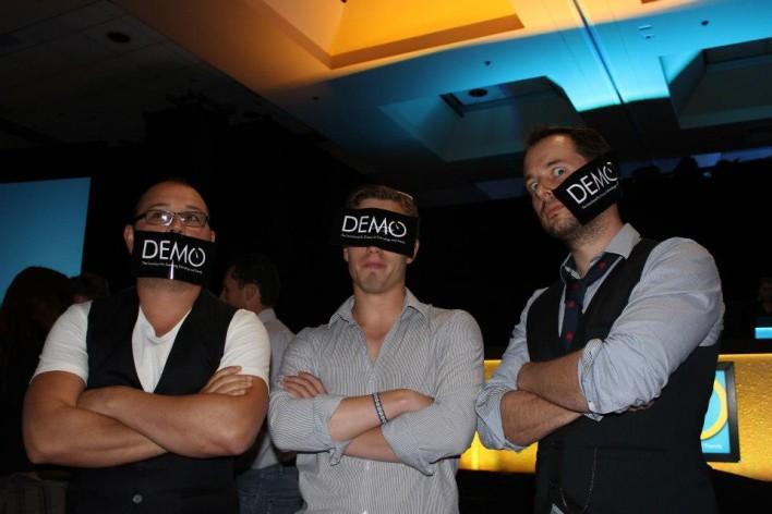 Taploid team at demo